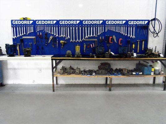 Bancada de ferramentas