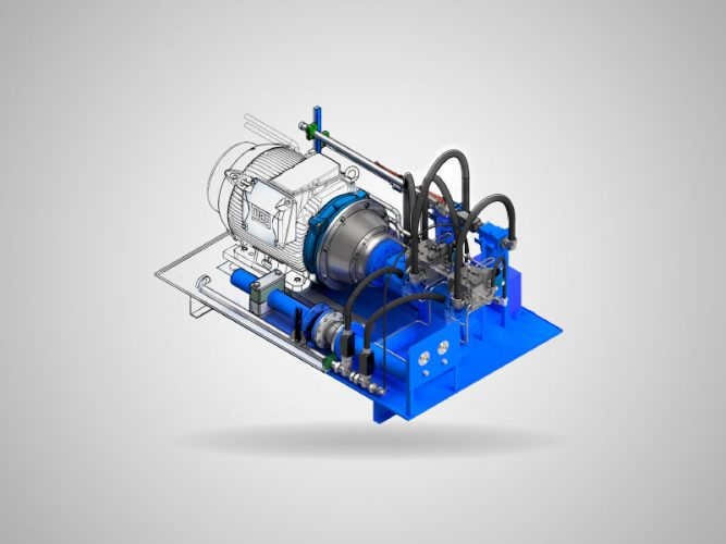Modelo em transicao do desenho tecnico ao desenho 3d
